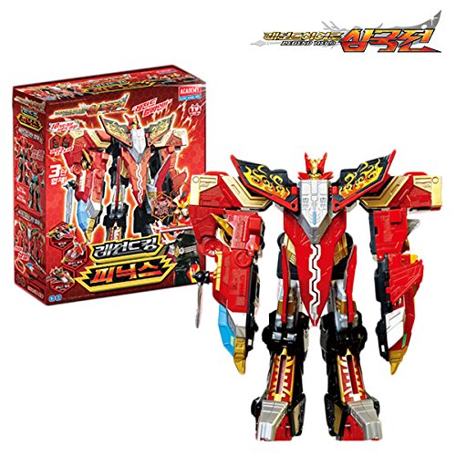 Academy Legend Hero Phoenix, Copolymers Transforming Toy Robot, Action Figure Korea Animation Toy Robot