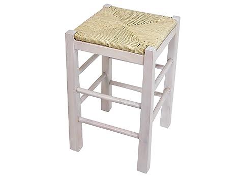 H h sgabello legno bianco amazon casa e cucina