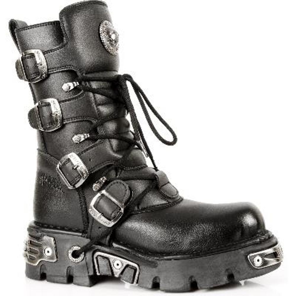 New Rock Stiefel Unisex Stiefel - Style 373 S4 schwarz