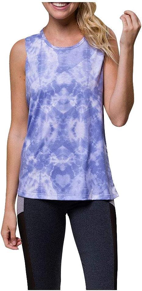 Onzie Hot Yoga Twist Back Top 3602 Electric Purple