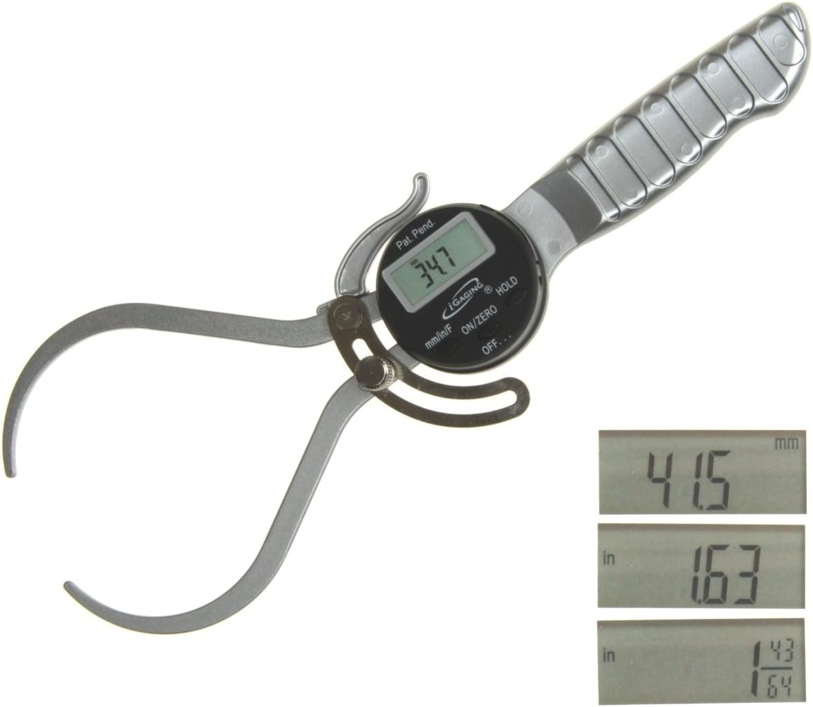 """iGaging 6"""" Digital Electronic Outside External OD Caliper for Woodworking"""