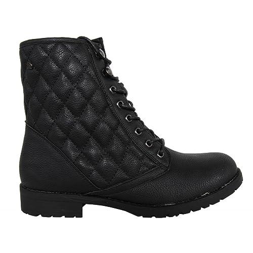 MTNG Botines de Mujer 51452 CARETO Negro Talla 37: Amazon.es: Zapatos y complementos