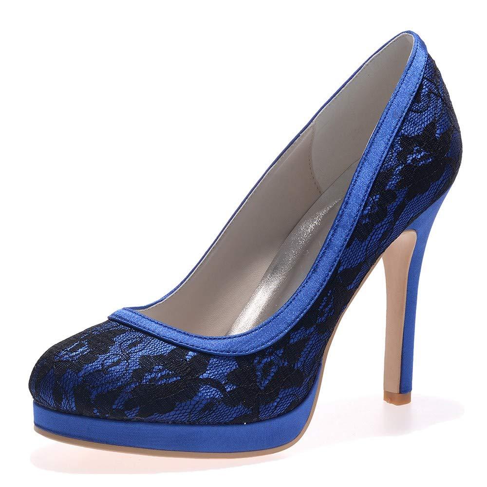 Zxstz Plateau Damen Schuhe Frau High High Frau Heels Büro Dame Datum Party Hochzeit Pumps Frau Schuhe 763459