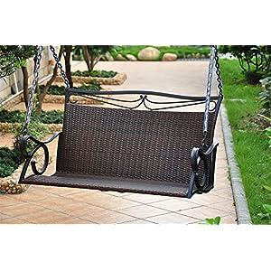 61tjJt80AcL._SS300_ 50+ Wicker Swings and Wicker Porch Swings
