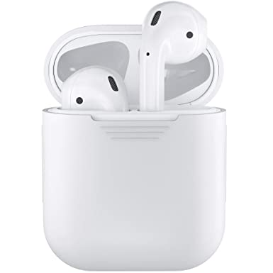 low priced dc714 7fefb EarBuddyz Podskinz Airpods Case Protective Silicone Cover And Skin ...