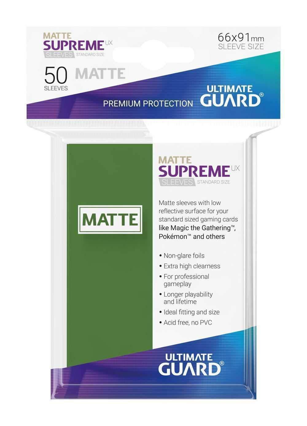 Noir Ultimate Guard Supreme UX /Étui pour Jeu de Cartes