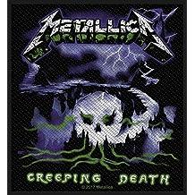 "Metallica Creeping Death patch 4x4"""