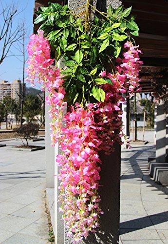 e-Joy-36-Feet-Artificial-Wisteria-Vine-Ratta-Silk-Hanging-Flower-Wedding-Decor-12-Pieces