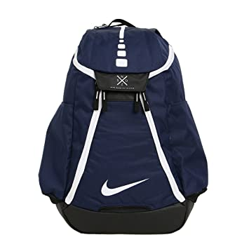 dd49ca9d2da Nike Hoops Elite Max Air Team 2.0 Basketball Backpack Midnight  Navy Black White