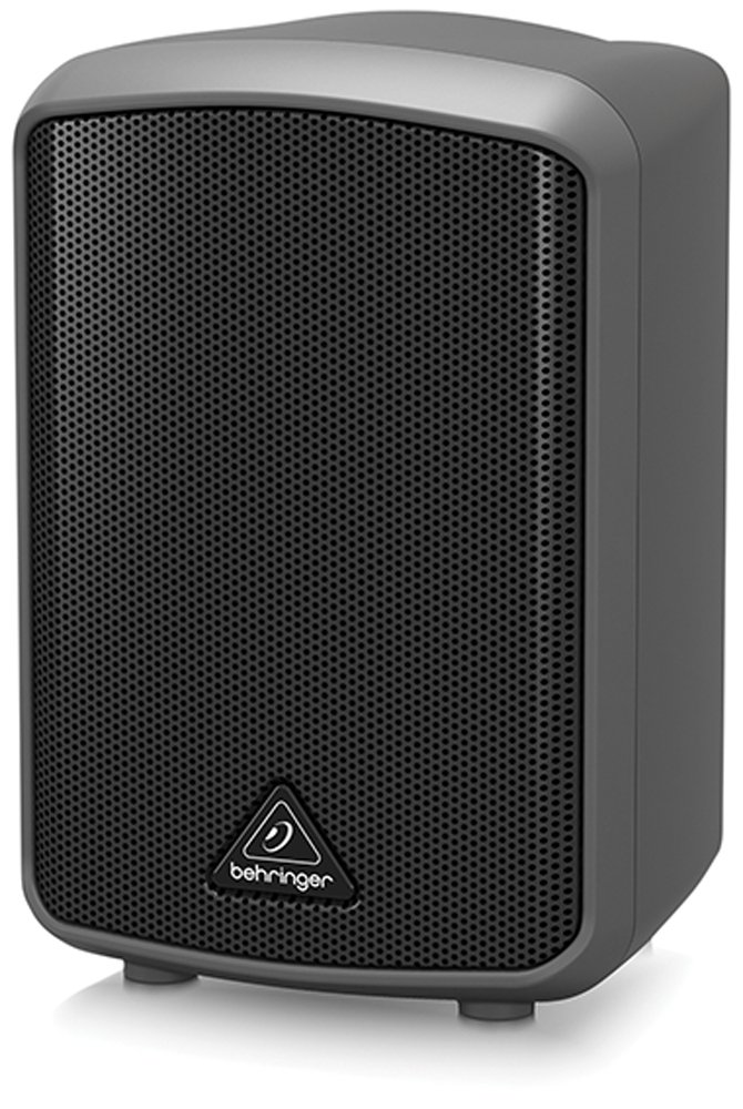 BEHRINGER MPA30BT All-in-One Portable 30-Watt Speaker with Bluetooth Connectivity and Battery Operation, Black