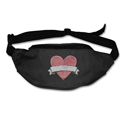 Image Cute Cats Hearts Running Lumbar Pack For Travel Outdoor Sports Walking Travel Waist Pack,travel Pocket With Adjustable Belt