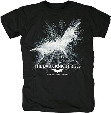 TSP Batman - The Dark Knight Rises Camiseta para Hombre: Amazon.es: Ropa y accesorios
