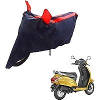 Mototrance Sporty Arc Blue Red Bike Body Cover for Honda Activa 5G