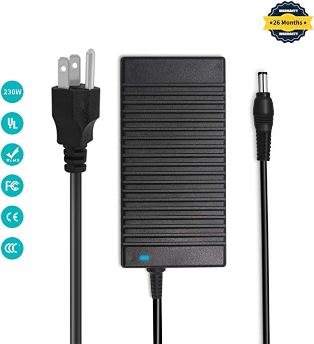 Delippo 19.5V 11.8A 230W AC Adapter Charger for Acer Predator 15 G9-593, G9-593G Acer Predator 17 G9-793Acer Predator Triton 700 PT715-51-70X3ADP-230EB T, A12-230P1A, KP.23001.001