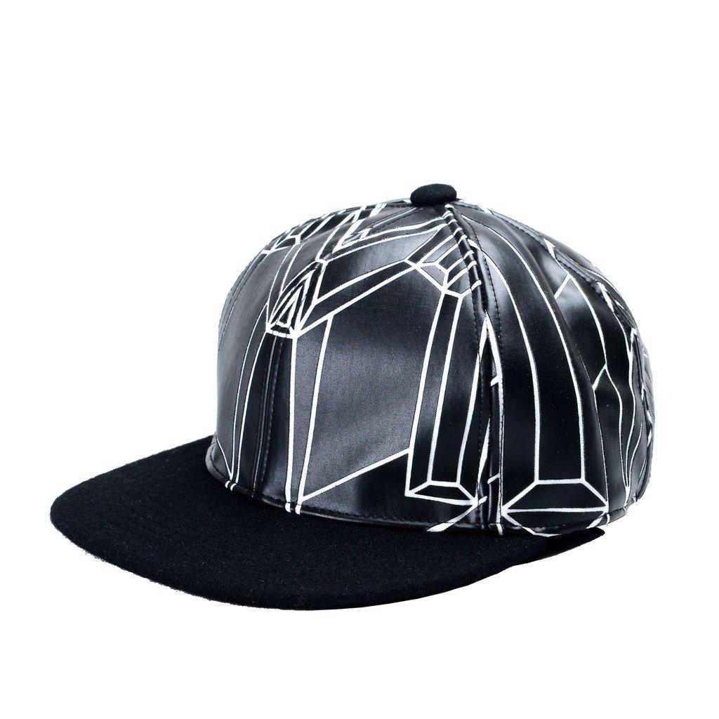 MCM Unisex Black Cotton Wool Adjustable Hat Sz M