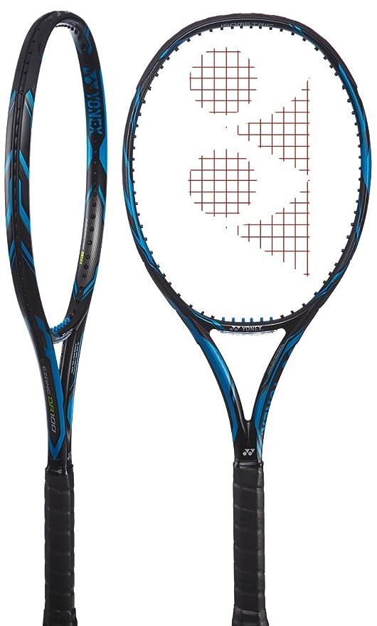 Amazon.com : Yonex EZONE DR 100 (300g) Blue Tennis Racquet (4 1/4
