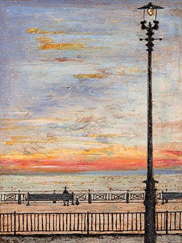 """Multi-colour Sam Toft /""""it/'s A Wonderful Life/"""" Canvas Print Cotton 3.20 x"""