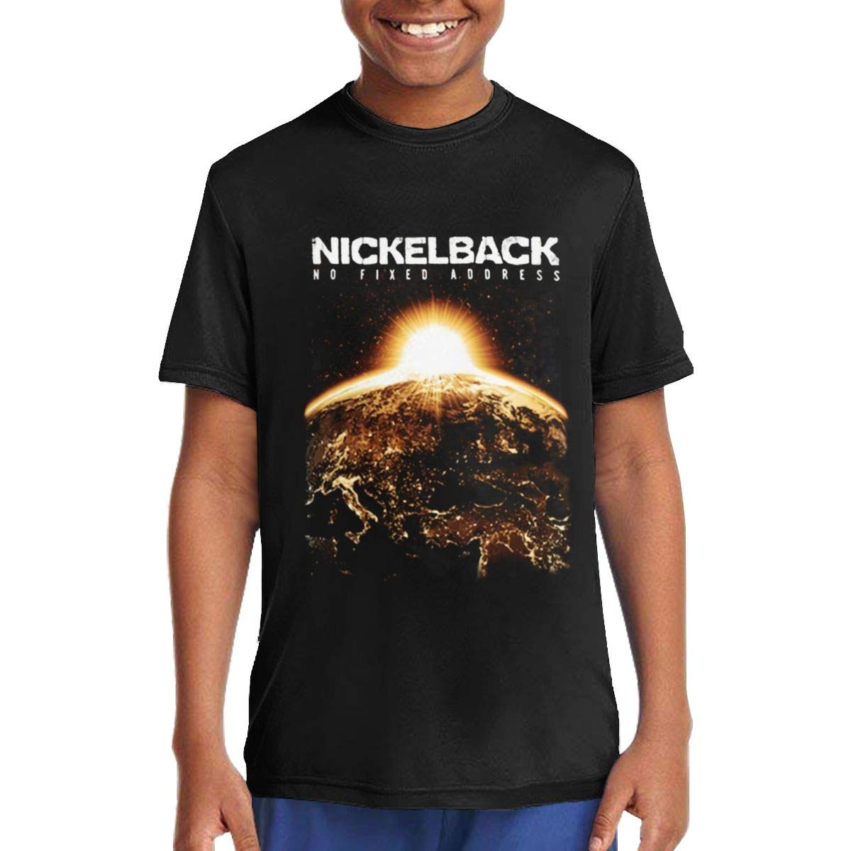 Moniqueabeech Nickelback Unisex Girls T Shirt Fashion T Shirt