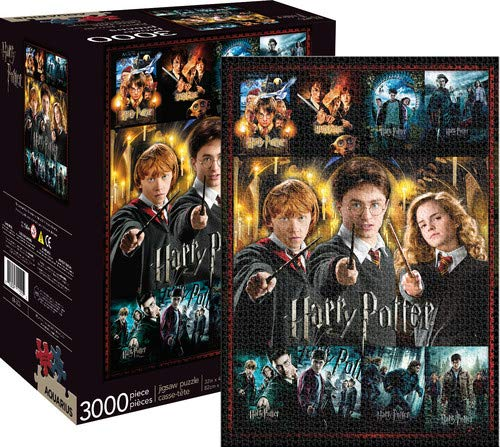 Harry Potter And The Goblet Of Fire Pc Game - Aquarius Harry Potter Movie Collection 3000 Piece Jigsaw Puzzle