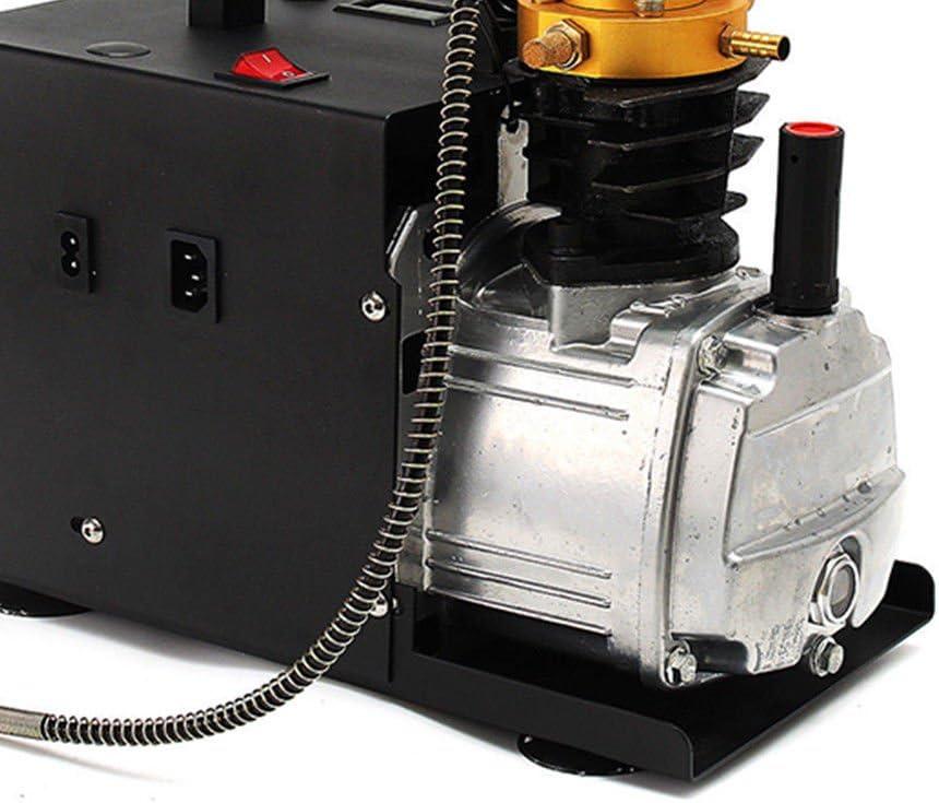 f/ür Automobil PCP Luftkompressor-Luftgewehr Gewehr Inflator 220V 30 Mpa Elektrische Hochdruck Luft Kompressor Pumpe Tauchflasche industrielle Flasche
