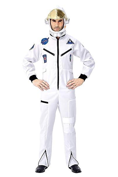 Disfraz de Astronauta Spaceman para Hombre, Disfraz de Halloween ...
