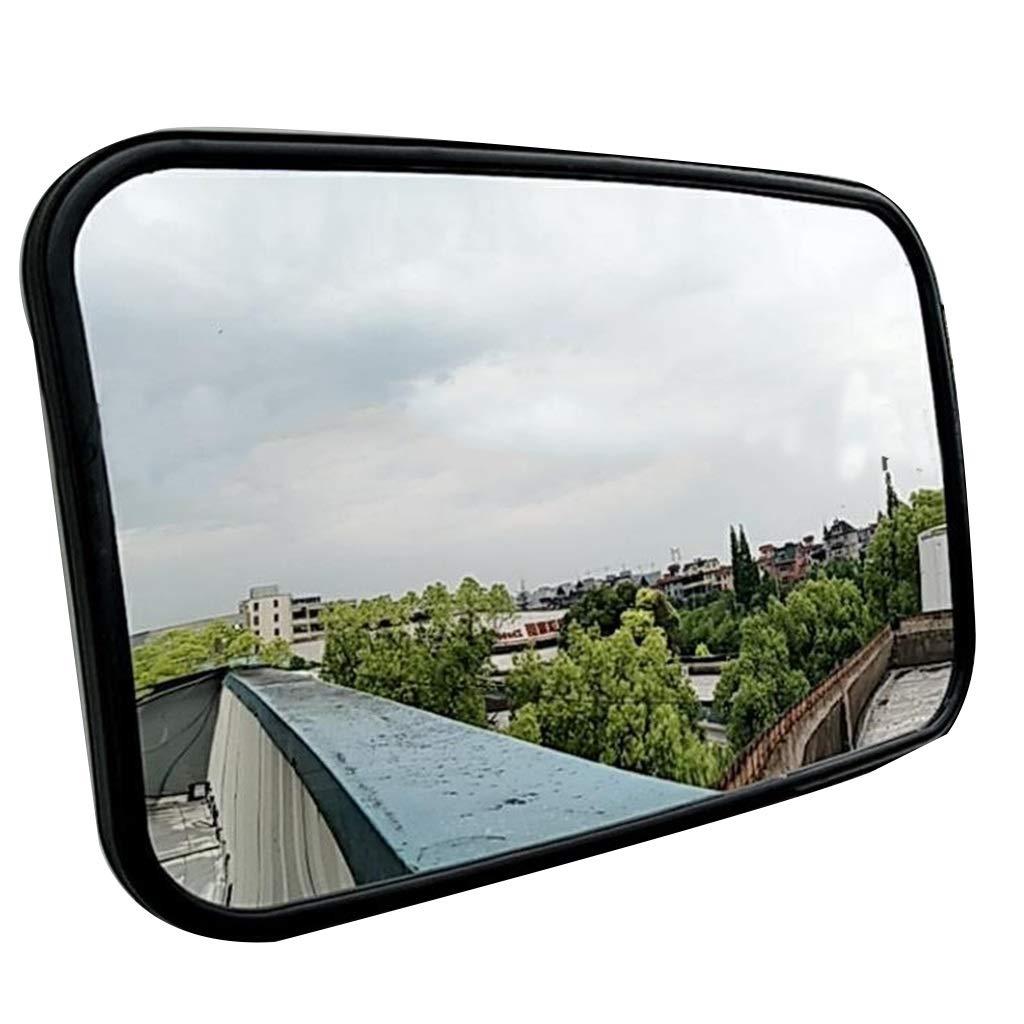 安全ミラー 安全広角ミラー ABS新素材ミラーバック フルドームプレキシグラスセキュリティミラー ガレージ駐車場   B07S98LHR9