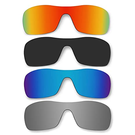 6371ddff66 Amazon.com  ACOMPATIBLE 4 Pair Replacement Polarized Lenses for Oakley  Antix Sunglasses Pack P14  Sports   Outdoors