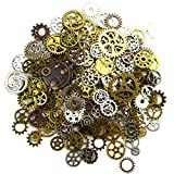 Aokbean 150 Gram Assorted Vintage Mixed Color Metal Steampunk Jewelry...