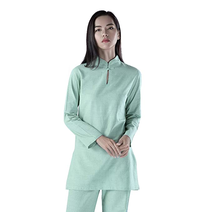 Amazon.com: KSUA Womens Tai Chi Suit Chinese Kung Fu ...