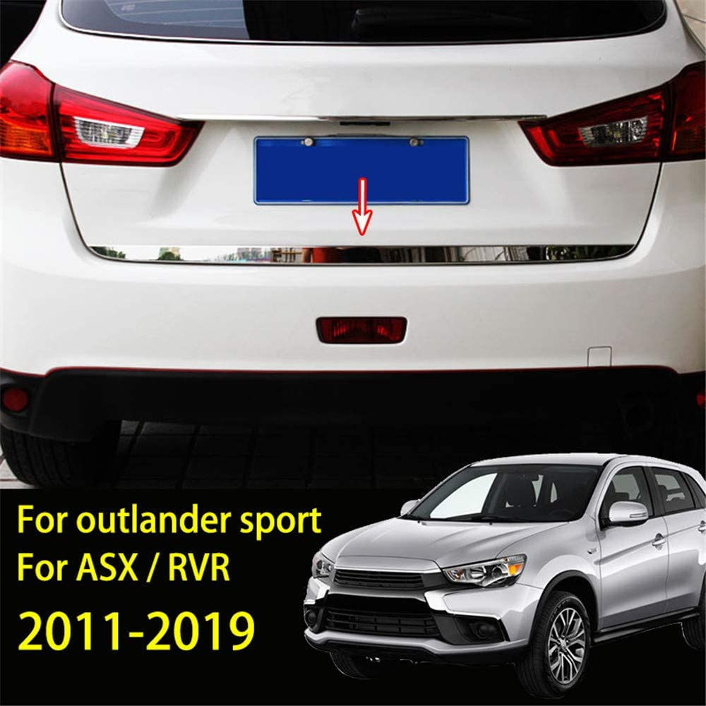 NTUOO Car Rear Spoilers ABS Auto Body Styling Accessories for Mitsubishi Outlander 2013-2018 Lid Trunk Boot Roof Window Extension Lip Tail Wing