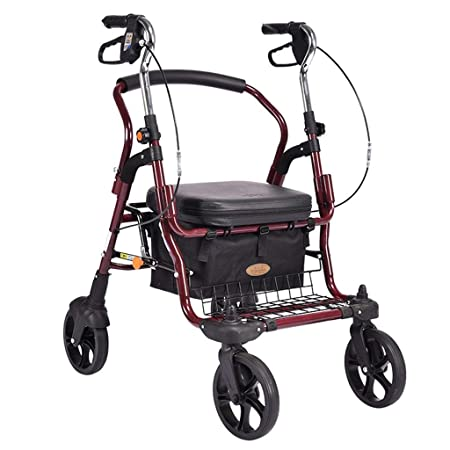 XSWZAQ Medline Premium Empower Andador Walker con los Asientos ...