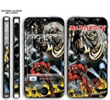 New Apple iPhone 4 Designer Skin with ANTENNA GUARDS- Iron Maiden - Number Of The Beast