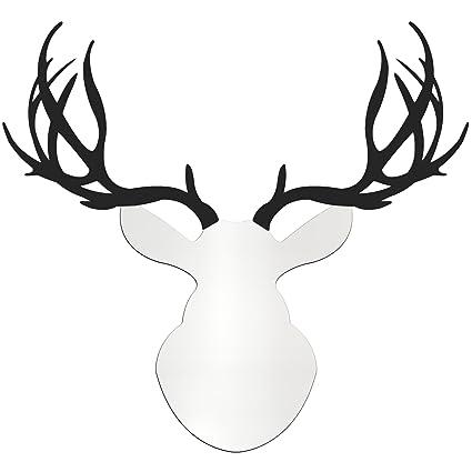 Amazon.com: Metal Art Studio AS0603 Contemporary Buck Deer Wall ...