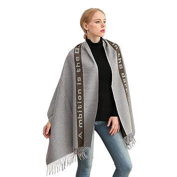 New Bufanda de bufanda con flecos. Abrigo contra el frío. Regalos para hombres. (Color : Beige-Free): Amazon.es: Coche y moto