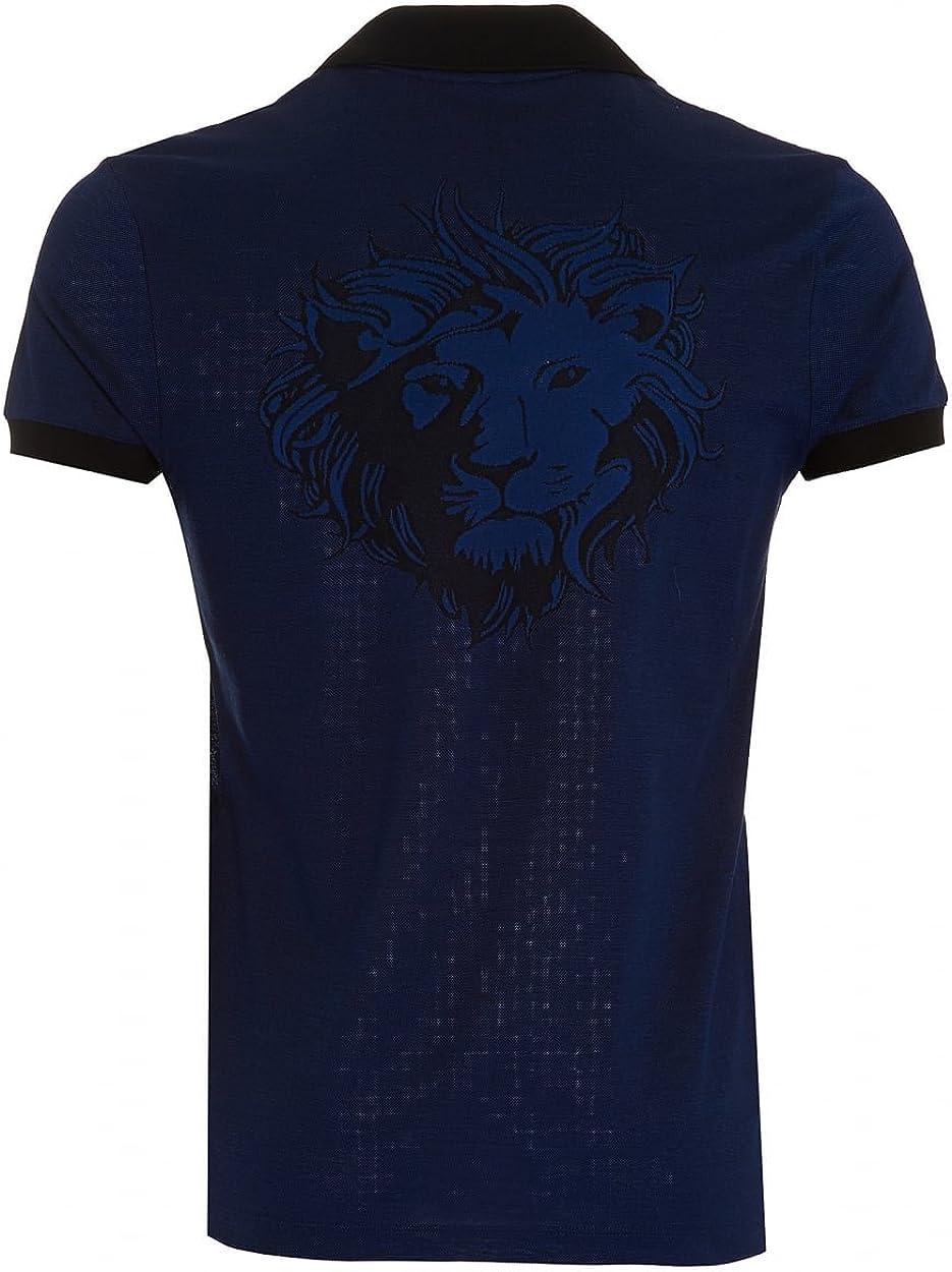 Versus Versace - Polo - para hombre azul azul/negro: Amazon.es ...