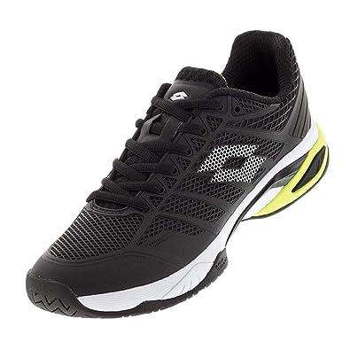 fa60e3fb5 Lotto-Men`s Viper Ultra IV Speed Tennis Shoes Black and White-(