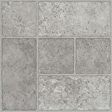 Trafficmaster 26293 Peel N' Stick Tile 12'' X 12'' Bodden Bay Grey 1.65 mm (0.065'') / 30 sq. ft. Per Case, 2.15'' x 12.25'' x 12.25'' (Pack of 30)