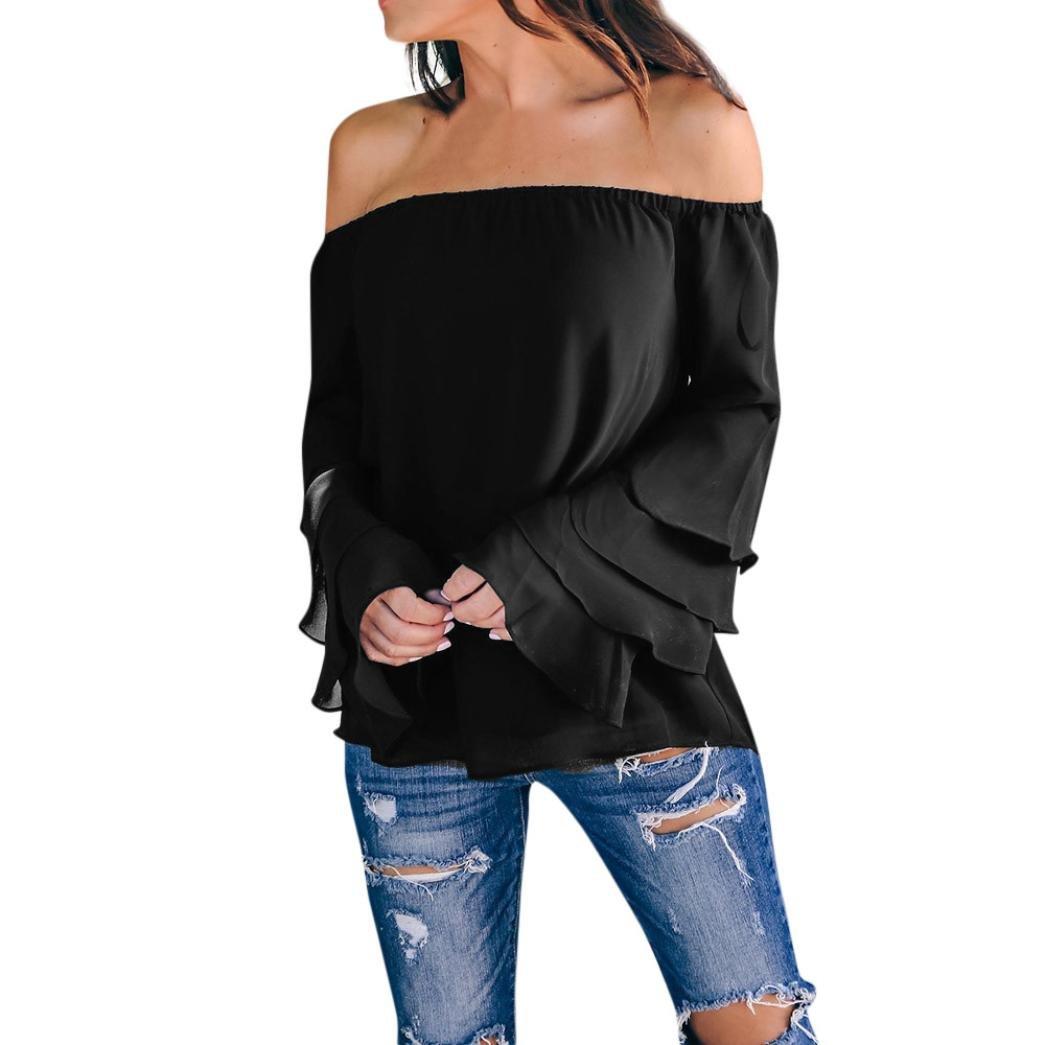 Blusas de moda 2017 en chifon