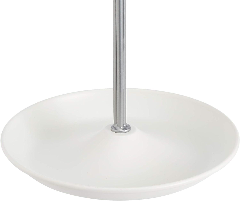 Basics Arbre /à bijoux blanc//nickel