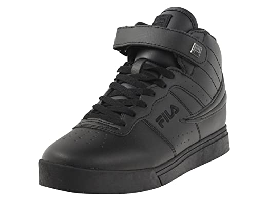 2189e8e6bf9c Fila Vulc 13 MP Mens Solid Black Athletic Sneaker Shoes (8
