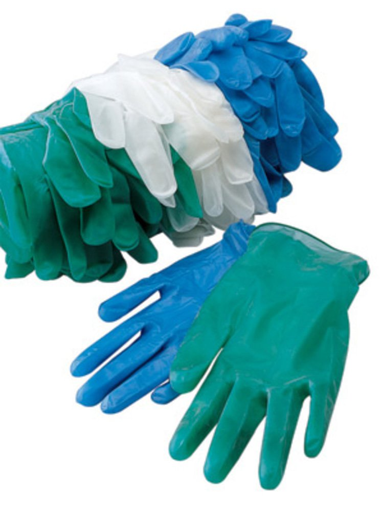 Radnor Medium Clear 5 mil Vinyl Non-Sterile Powder-Free Disposable Gloves (3000 Gloves)