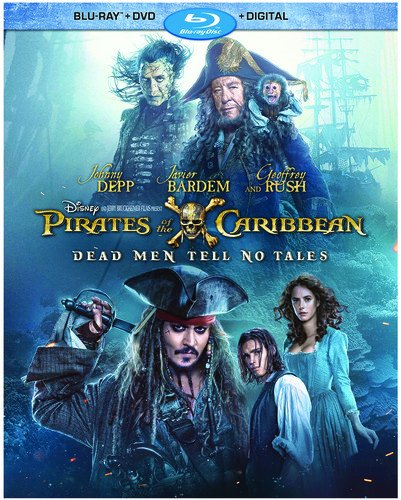Blu-ray : Pirates of the Caribbean: Dead Men Tell No Tales (With DVD, AC-3, , Dubbed, Digitally Mastered in HD)