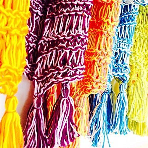 Smoothie bufanda – Aprender a tejer kit con vídeo curso, para ...