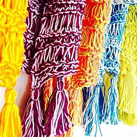 Smoothie bufanda – Aprender a tejer kit con vídeo curso, para principiantes: Amazon.es: Juguetes y juegos