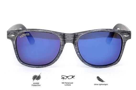 Catania - gafas de sol con lentes polarizadas, colección Wayfarer Style (funda incluida.)