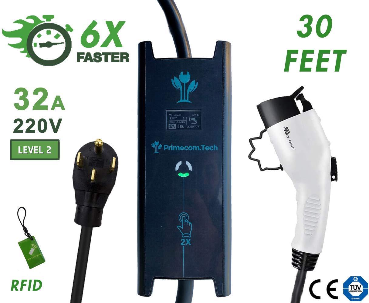 Amazon.com: Primecom - Cargador eléctrico para vehículos de ...