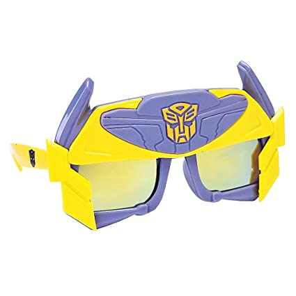 66a2c23498 Image Unavailable. Image not available for. Color  Sun-Staches Costume  Sunglasses Transformers Bumble Bee ...