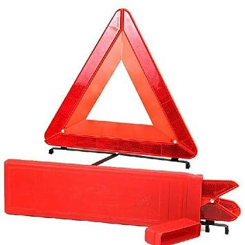 amazon com dicesnow car foldable triangle reflective emergency