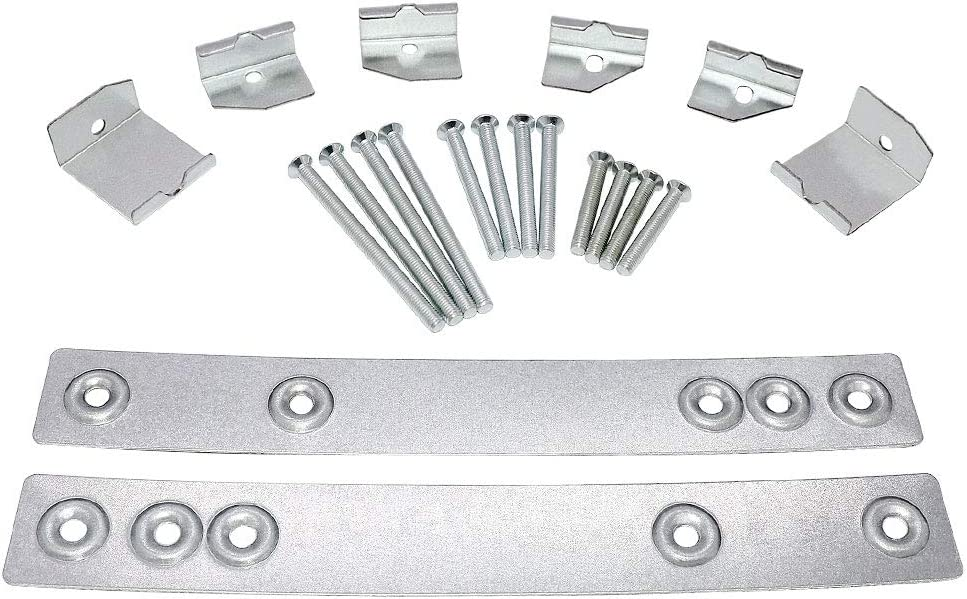 Compact Undercabinet Mounting Kit WX4-A019 JXA019K by AMI PARTS Replacement Part for GE Microwave Oven AP3205226, JXA019K