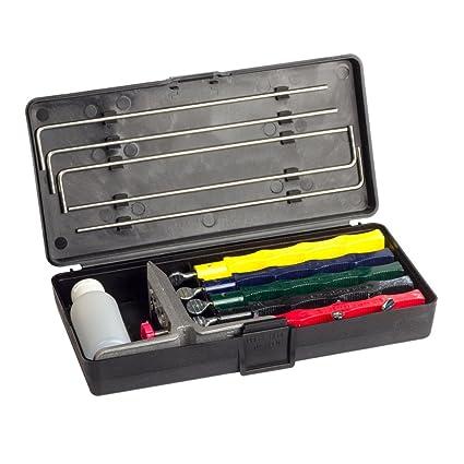 Afilador profesional de cuchillos de cocina, con sistema de ...
